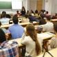 universitarios en clases