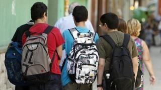 mochila estudiantes